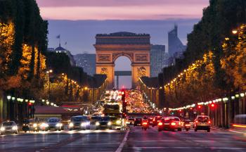 Frankreich - Paris bei Nacht