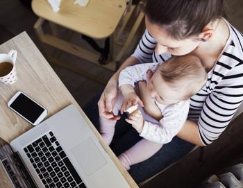 Karrierefalle Kind: Als Mutter im Job ausgebremst?