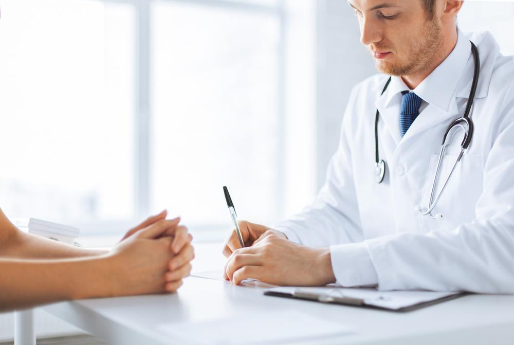 Arzt schreibt krank