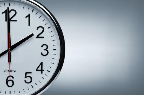 tickende Uhr