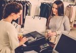 Verkäuferin bei Zara