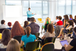 Vortrag bei einer Weiterbildung im Bildungsurlaub