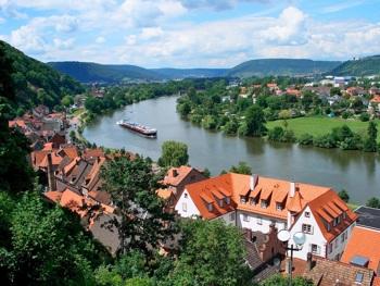 Ländliche Gegend in Miltenberg/Unterfranken