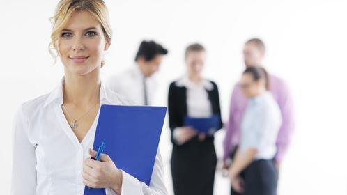 Frauen in Chefposition