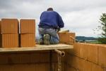 Handwerker auf dem Bau