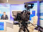 Kamera im Fernsehstudio