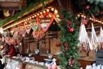 Verkaufsstand auf dem Weihnachtsmarkt